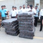 Largest haul of cocaine seized in Asia in Colombo Harbour