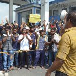 JVP to support Port employees' struggle