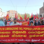JVP joins march against meeting of EU heads of state