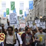 Protesters want answers regarding Grenfell Tower fire