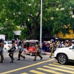 Riot police deployed to attack students opposing SAITM