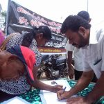 Farmers sign petition demanding promised compensation