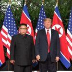Trump & Kim shake hands in Singapore