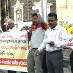 Increase salaries immediately – State employees agitate at Kurunegala