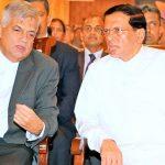 Ranil – Maithri clash for Moragahakanda & Kaluganga