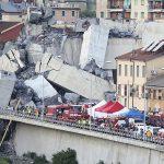 Bridge on highway linking Italy & France collapses killing 36 & injuring dozens