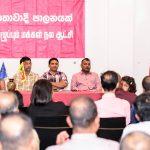 Anura addresses Sri Lankans in Austria