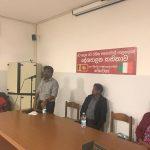 JVP Leader addresses Sri Lankans in Italy