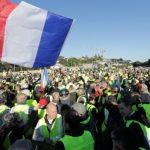 French protest against increased fuel prices