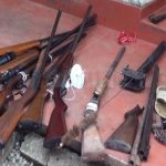Armoury with  firearms for VIP protection raided