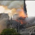 Fire destroys parts of Paris' Notre Dame Cathedral