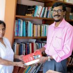 Mr Jayatilleke de Silva's library donated to JVP