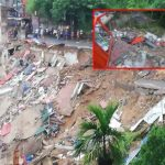 Ginigathhena landslide makes Kandy road impassable
