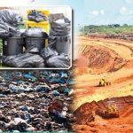 Tippers transporting garbage to Aruvakkalu attacked
